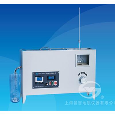 上海昌吉SYD-255K石油产品馏程试验器(一体式、水浴控温)