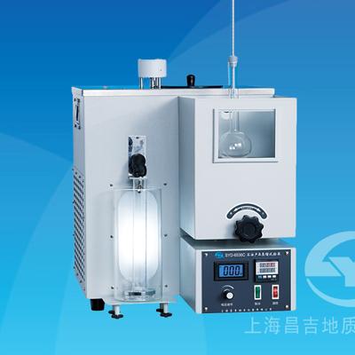 上海昌吉SYD-6536C石油产品蒸馏试验器(低温单管式)