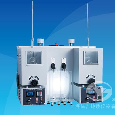 上海昌吉SYD-6536B石油产品蒸馏试验器(低温双管式)