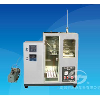 上海昌吉SYD-0165A减压馏程测定器(数显)