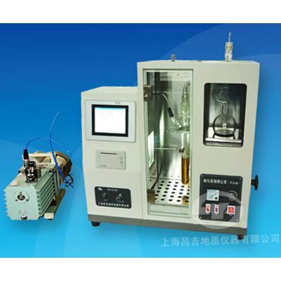 上海昌吉SYD-0165B减压馏程测定器(半自动触摸屏)