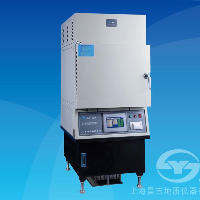 上海昌吉SYD-6307沥青含量测试仪(燃烧法)