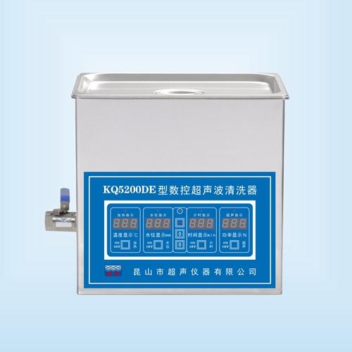 昆山舒美KQ5200DE超声波清洗器
