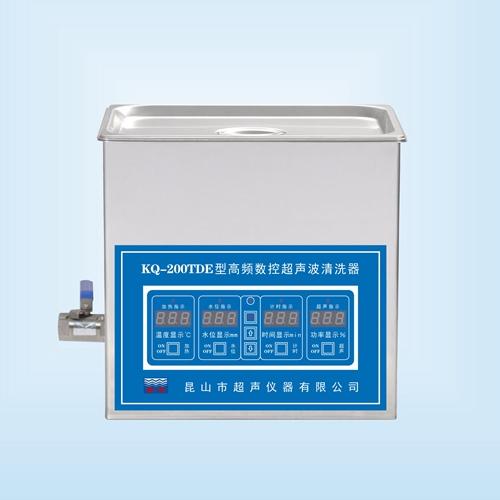 昆山舒美KQ-200TDE高频超声波清洗机