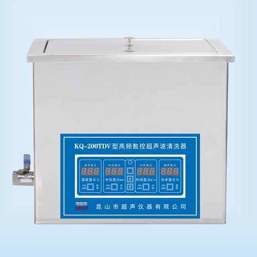 昆山舒美KQ-200TDV高频超声波清洗机