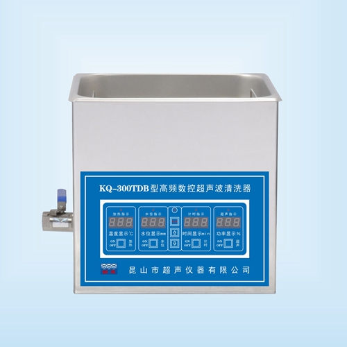 昆山舒美KQ-300TDB高频超声波清洗机