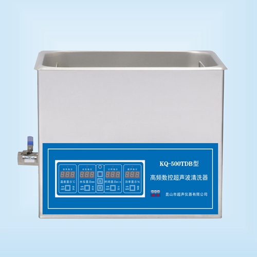 昆山舒美KQ-500TDB高频超声波清洗机