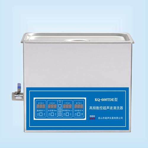 昆山舒美KQ-600TDE高频超声波清洗机