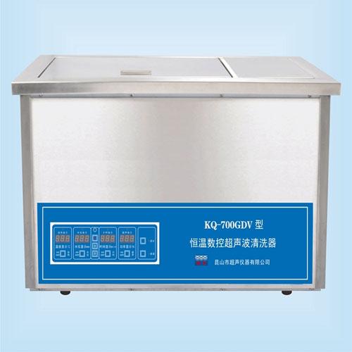 昆山舒美KQ-700GDV恒温超声波清洗机