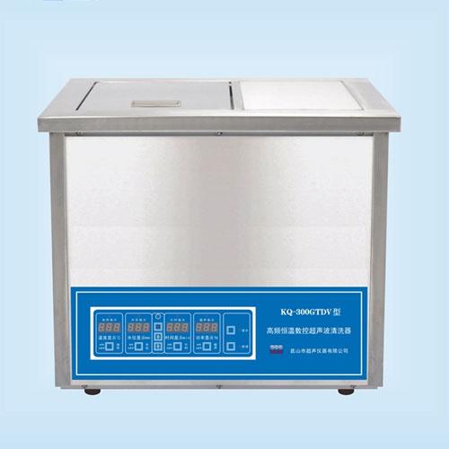 昆山舒美KQ-300GTDV高频恒温数控超声波清洗机