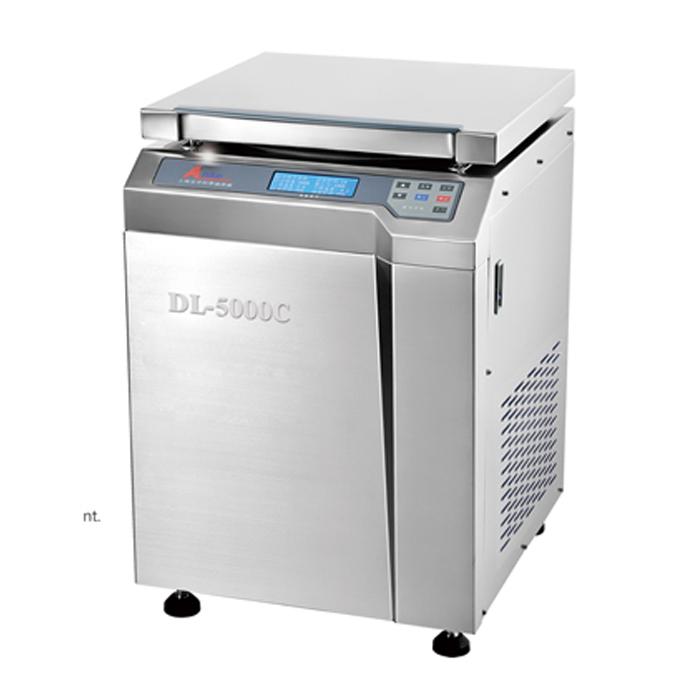 上海安亭DL-5000C低速冷冻大容量离心机