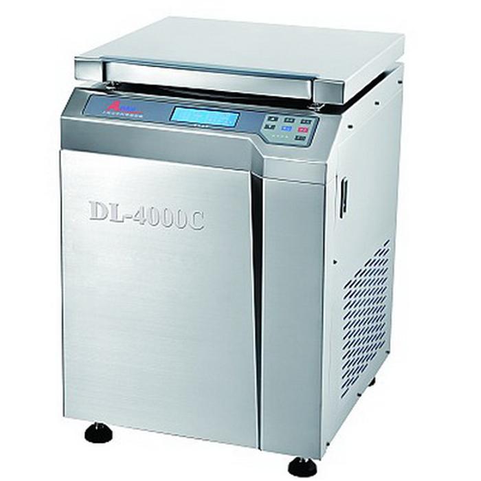 上海安亭DL-6000C低速冷冻大容量离心机