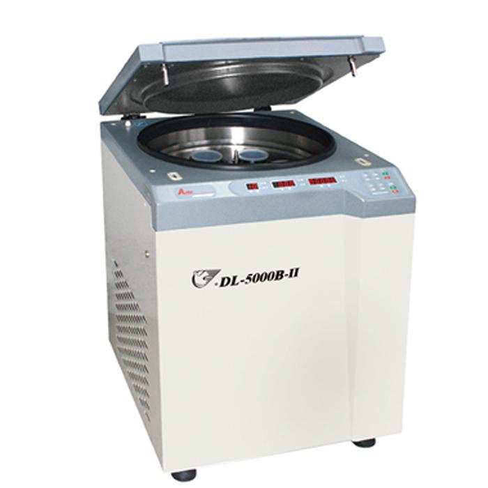 上海安亭DL-6000B低速冷冻大容量离心机