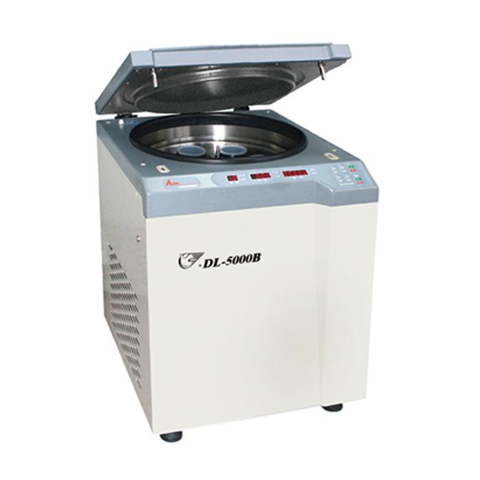上海安亭DL-5200B低速冷冻大容量离心机