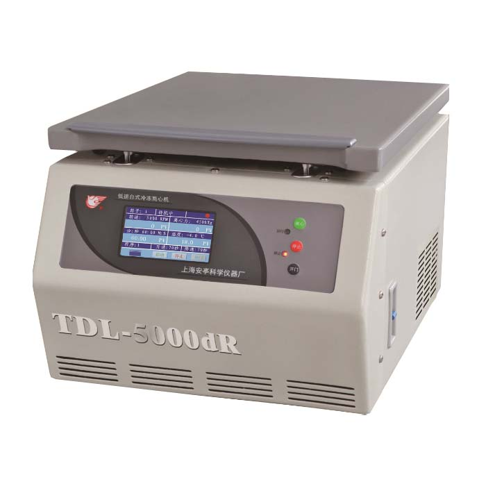 上海安亭TDL-5000dR低速台式冷冻离心机