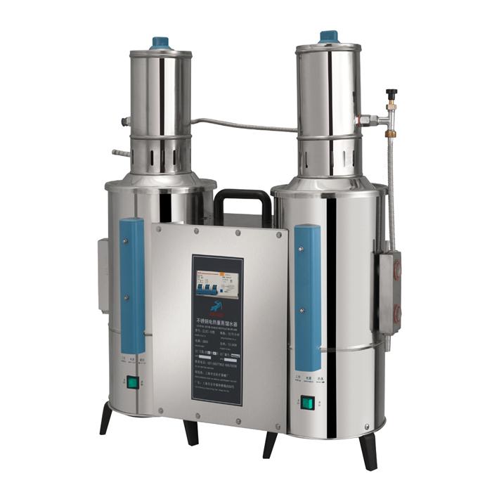 上海申安ZLSC-10不锈钢电热重蒸馏水器