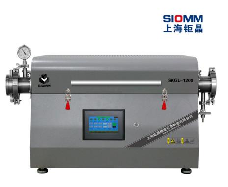 上海钜晶SKGL-1200精密开启式管式炉