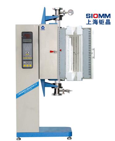 上海钜晶SZGL-1200L立式开启式管式炉