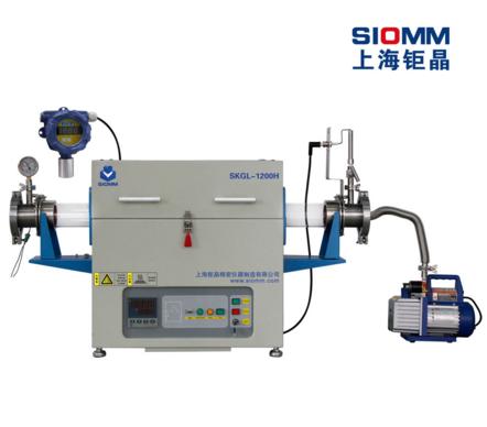 上海钜晶SKGL-1200H氢气管式炉