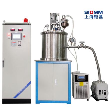 上海钜晶ZR-10-10坩埚升降式真空搅拌炉