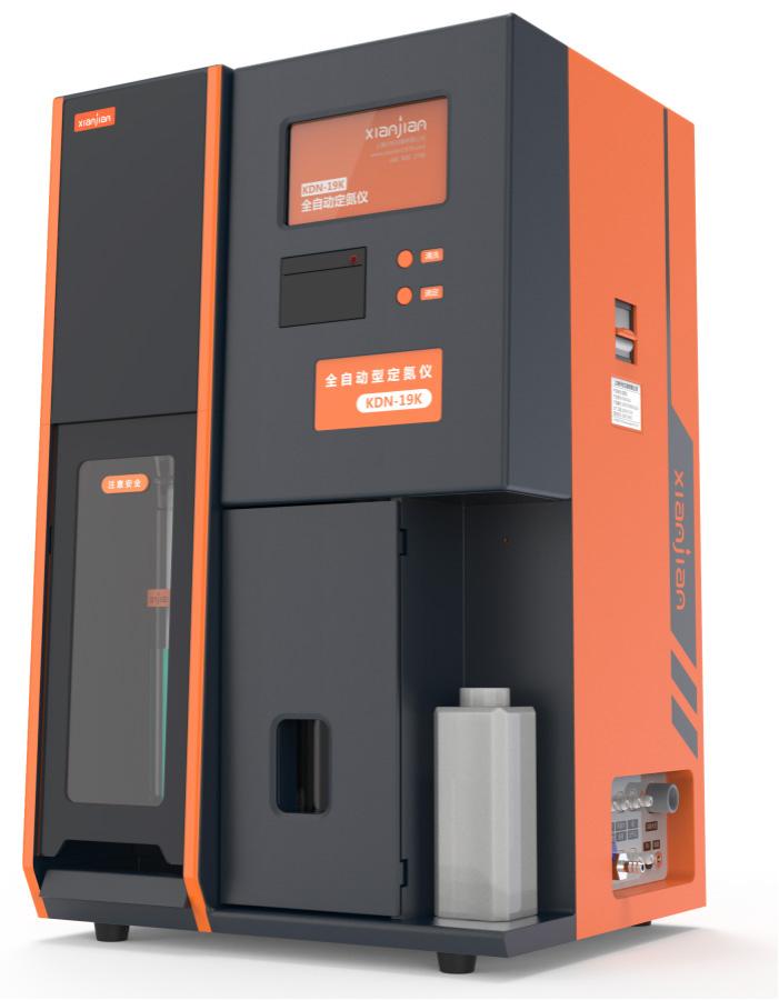 上海纤检KDN-19K型全自动定氮仪