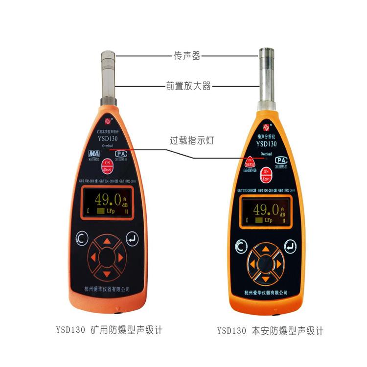 杭州爱华YSD130型矿用本安型声级计