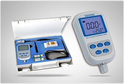 上海三信SX713便携式电导率/TDS/盐度/电阻率测量仪