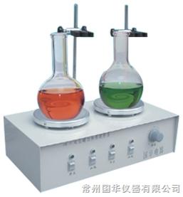 常州国华HJ-2A双头磁力搅拌器 数显控温 2头