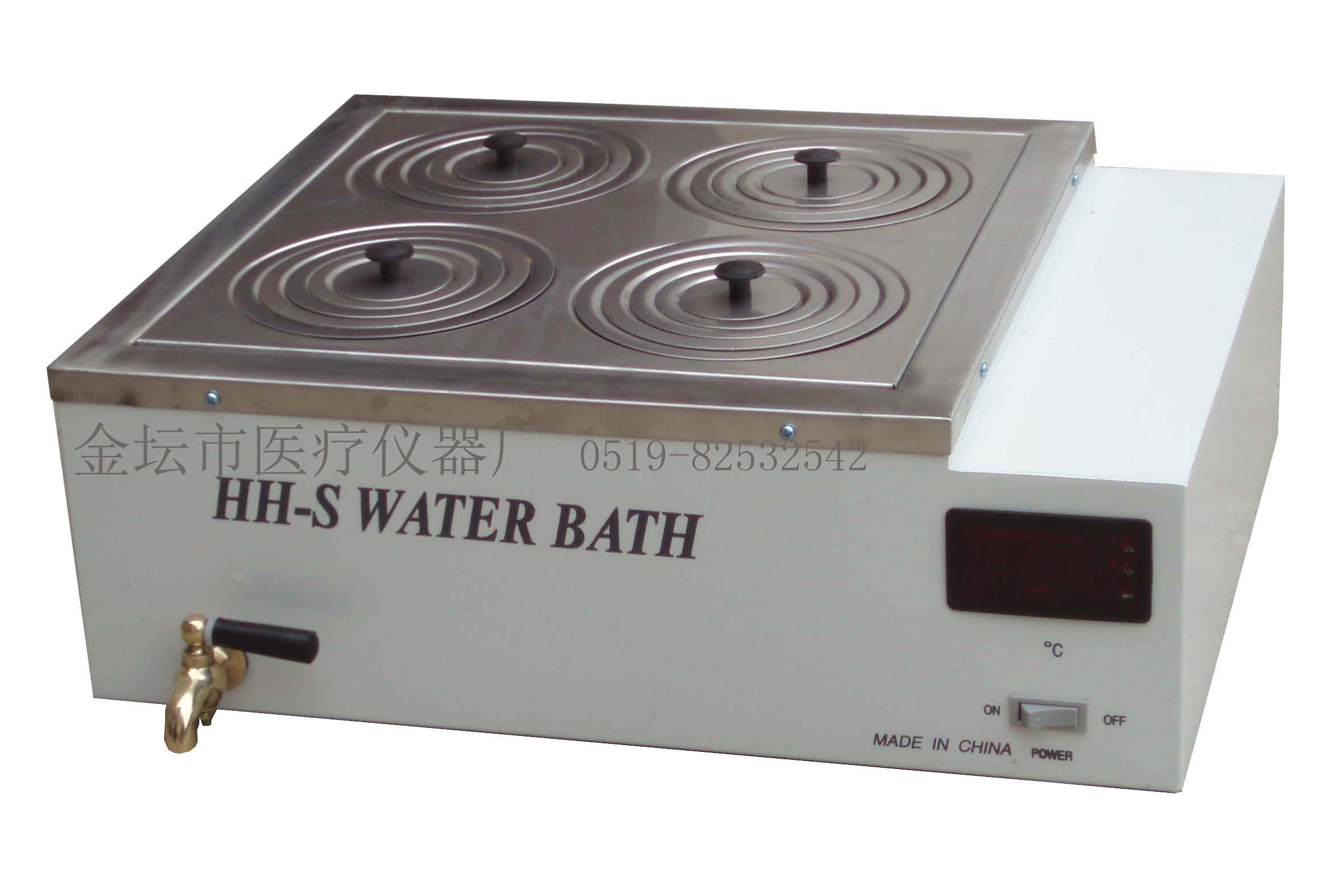 江苏金坛HH-S4数显双列四孔水浴锅