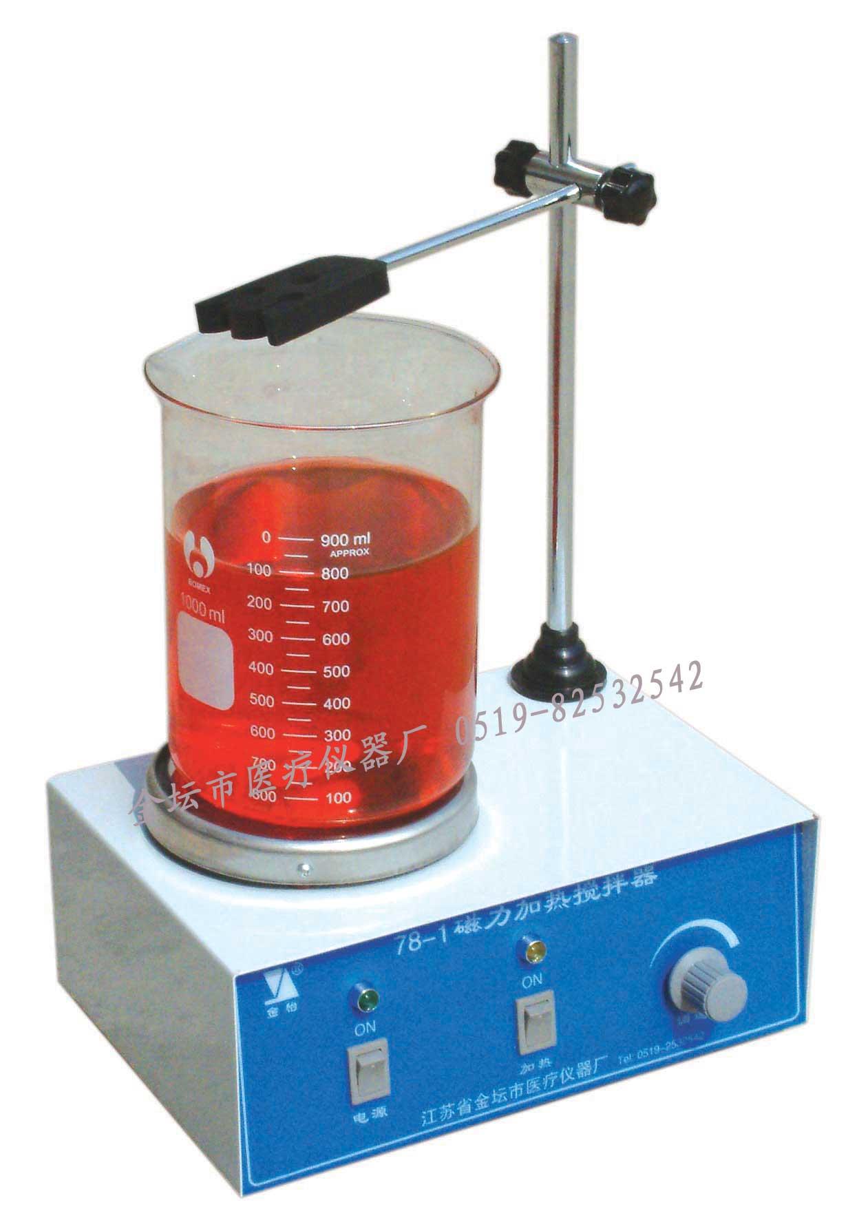 江苏金坛HJ-1磁力加热搅拌器