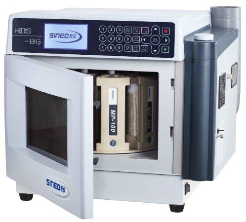 上海新仪MDS-8G多通量微波消解仪/萃取系统