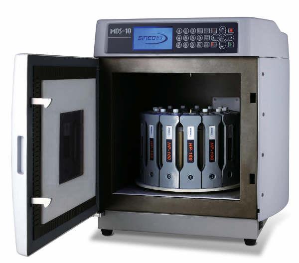 上海新仪 MDS-10 高通量超高压密闭微波消解仪