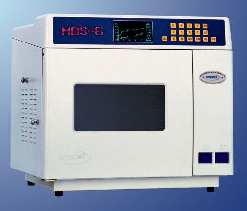 上海新仪MDS-6型自动变频温压双控微波消解仪