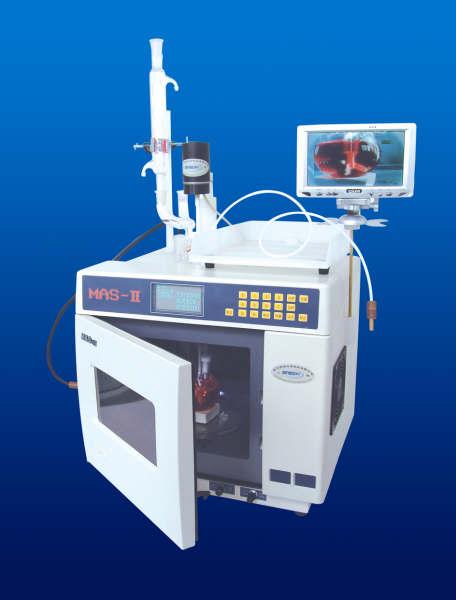 上海新仪MAS-II型常压微波合成/萃取反应工作站