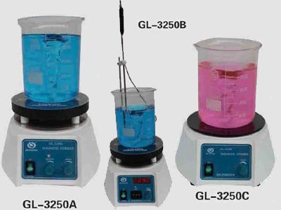 其林贝尔GL-3250B磁力搅拌器(温度数字显示)