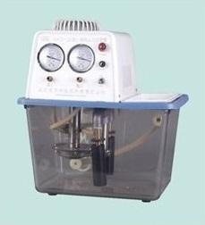 巩义予华SHZ-D(III)透明水箱不锈钢双表双抽循环水式真空泵