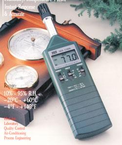 苏州尚田TES1360A温湿度计