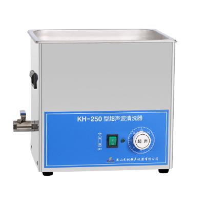 昆山禾创KH-250旋钮式超声波清洗机