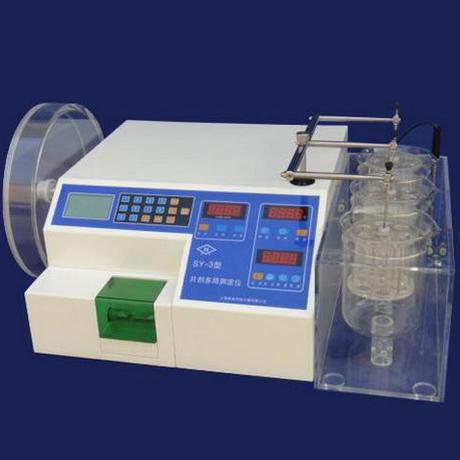 上海黄海药检SY-3片剂多用测试仪