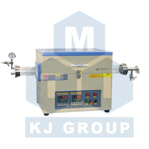 合肥科晶OTF-1200X-II双温区管式炉