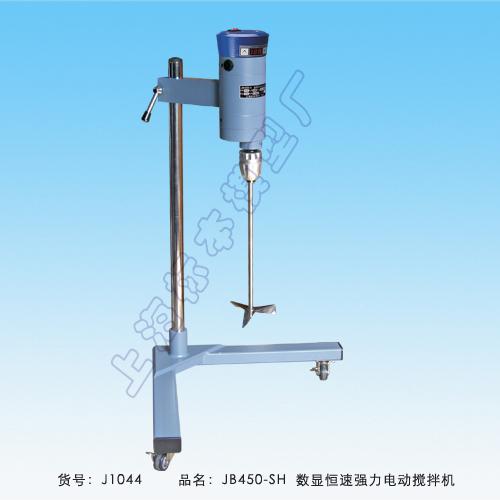 上海标本JB450-SH数显恒速强力电动搅拌机
