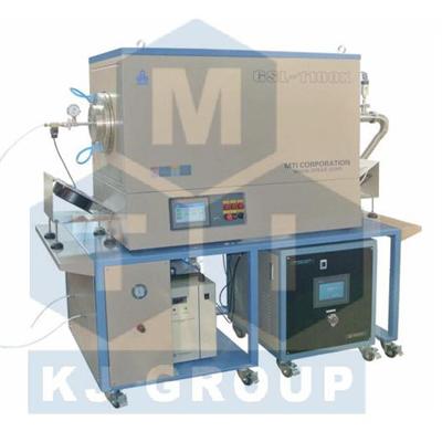 合肥科晶GSL-1100X-III-8.5T三温区管式炉