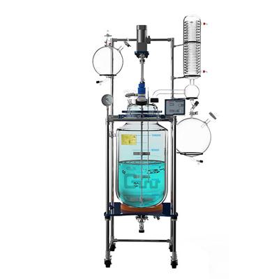 长城科工贸GR-20可旋转可升降式玻璃反应釜