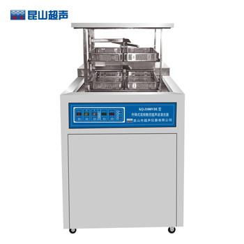 昆山舒美KQ-J1000VDE升降式双频数控超声波清洗器