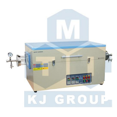 合肥科晶OTF-1200X-III三温区开启式管式炉