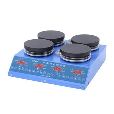 上海梅颖浦524G数显恒温磁力搅拌器