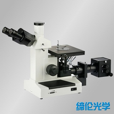 上海缔伦XJL-17BT倒置金相显微镜