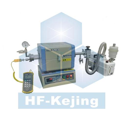 合肥科晶OTF-1200X-S50-LVT带有温度校准系统的开启式管式炉