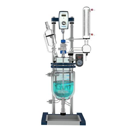 长城科工贸GR-5调速玻璃反应釜(台式)
