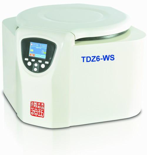 湖南赫西TDZ6-WS台式低速多管架离心机